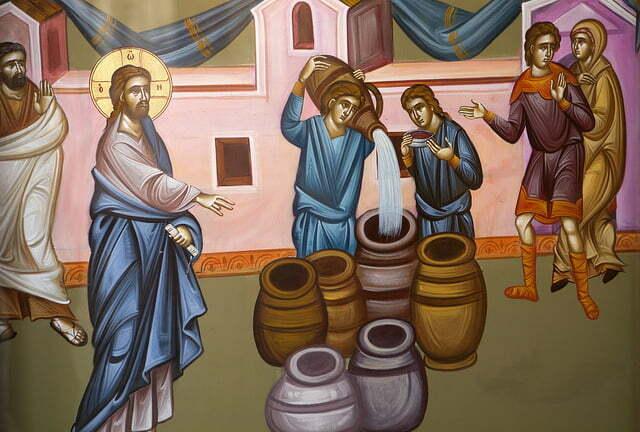 Animacja biblijna – Cud w Kanie Galilejskiej -> J 2, 1-11